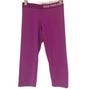 Nike Pro Combat Fuchsia Shorts